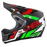 O'Neal Unisex Fullface Helm Sonus Strike, Rot, S, 0481