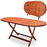 Gartentisch Esstisch Garten Tisch Gartenmöbel Holztisch EUKALYPTUS Klapptisch 160x85x75 cm - Modellauswahl