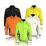 Radfahr-/Lauf-Jacke; Sportbekleidung; zum Laufen geeignet; langärmelig; schützt vor Wind und Regen; schnelltrocknend; winddicht; für Frühling / Herbst geeignet; zum Fahrradfahren; in 5Farben erhältlich XL grün - grün