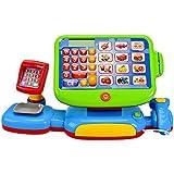 Kinder Spiel Kasse mit 'Touch Display ' inkl.Spielgeld Kaufmannsladen Sound Kaufladen mit viel Zubehör