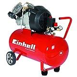 Einhell Kompressor TC-AC 400/50/8 Kit (2.200 W, 400 l/min Ansaugl., 50 l Kessel, 8 bar max., Ölschmierung, Druckminderer, inkl. Druckluft Starterset)
