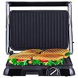 NETTA 2000W elektrischer Kontaktgrill Tischgrill Sandwichtoaster   Sandwich elektro Grill   Panini-Maker kleiner Multigrill   Anti-Haftbeschichtung