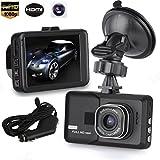 Voberry Dash Cam, 3 ' LCD HD 1080p Auto Fahrzeug Video Dash Cam Recorder Kamera DVR HDMI G-Sensor