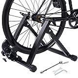 COSTWAY Rollentrainer Cycletrainer Fahrrad Heimtrainer Fahrradtrainer klappbar bis zu 150 kg