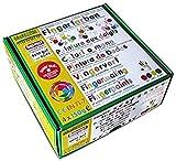 Nawaro Fingerfarben 4er Set A - Rot Gelb Grün Blau
