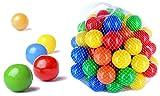 CM3 5000 Bälle für Bällebad gemischt für Kinder, Babys, Tiere, 55 mm Durchmesser