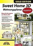 Sweet Home 3D Wohnungsplaner - Premium Edition mit zusätzlichen 1.100 3D Modelle und gedrucktem Handbuch, ideal für die Architektur, Haus und Wohnplaner - für Windows 10-8-7-Vista-XP & MAC