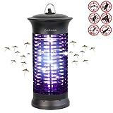 UV Insektenvernichter, Elektrische Mückenfalle Moskito Killer Insektenfalle Mückenfalle für 30m² Innen Aussen Camping