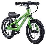 BIKESTAR Mountain Kinderlaufrad Lauflernrad Kinderrad für Jungen und Mädchen ab 3 - 4 Jahre  12 Zoll Kinder Laufrad Mountainbike  Grün