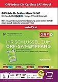 ORF DIGITAL DIREKT irdeto CI+ Modul (Neue Technologie keine Karte mehr notwendig)