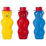 Pustefix 420869525 - Seifenblasen Zauberbär 180 ml (farblich sortiert)