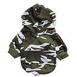 Chihuahua Pullover | Hochwertige Hundebekleidung | süßer Norweger Winterpulli für kleine Hunde (camouflage)