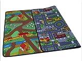 Duo Play HEVO Teppich | Kinderteppich | Spielteppich Wendeteppich 135x200 cm