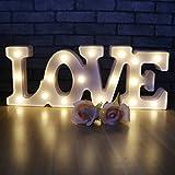 XIYUNTE Romantische Festzelt Sign Light - Ich liebe U Night Lights Room Decor Valentinstag Motif Lampen Wandleuchten Batterie & USB betriebene Nachttisch und Tischlampen für Wohnzimmer, Kinder Schlafzimmer, Party, Weihnachten, Hochzeit, Geburtstag