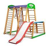 KindSport Kinder Aktivitätsspielzeug Kletterturm mit Rutsche Karapuz-plus-1-1 Spielcenter Spielplatz