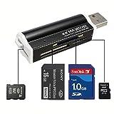 MECO USB2.0Kartenleser / Card Reader, für Speicher Micro SD MMC SDHC TF