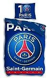 Paris St German PSG Fußball-Bettwäsche-Bettbezug 140x 200cm Kopfkissenbezug 63x 63cm