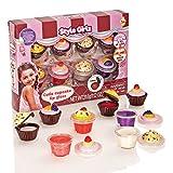 S & Li Kosmetik Cutie Cupcake 8 Stück Lipgloss Set