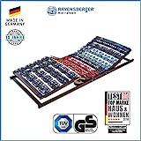 Ravensberger Matratzen Meditec Lattenrost   5-Zonen-TPEE-Teller-Systemrahmen   Schichtholzrahmen  Elektrisch  MADE IN GERMANY - 10 JAHRE GARANTIE   TÜV/GS 80 x 200 cm