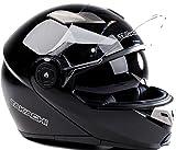 TK380 Motorradhelm Klapphelm Motorrad Helm schwarz Takachi L