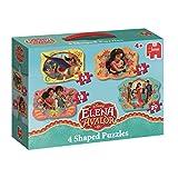 Disney 19675 - Elena of Avalor, 4in1 Konturenpuzzle