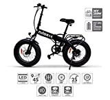 Nilox E Bike X4, Elektro Fahrrad, Schwarz, One Size
