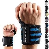 Fitgriff Handgelenk Bandagen [Wrist Wraps] 45cm Handgelenkbandage für Fitness, Bodybuilding, Kraftsport & Crossfit - für Frauen und Männer