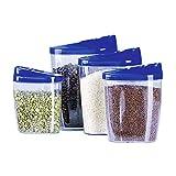 Edco Schüttdosen-Set aus Kunststoff, 4-teilig (1 Set)