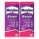 Henkel Metylan Direct Tapetenkleister für Vlies-Tapeten 200g ( 2er Pack )