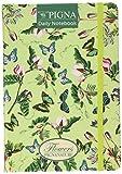 Pigna 022791900Agenda mit Gummizug, Recyclingpapier, 100Blatt, 14.8x 21cm,