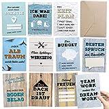 Geschenk für Bauherr oder Bauherrin: 30+1 Meilensteinkarten als Bautagebuch für Häuslebauer INKL. Glückwunschkarte & Geschenkbox - kreative und persönliche Geschenkidee für die Hausbauer Baustelle