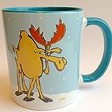 Coole Tasse mit Elch, Schweden Tasse, Glühweinbecher, Glühweintassen, Skandinavien-Fans, Geschenkidee Schweden-Fans, Kaffeebecher Winter, Geschenkidee für Männer, last minute Geschenk