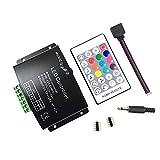 RGBW music controller RF RGBW 24 Key Music-Controller (12A) für 5050 3528 LED-Streifen-Module RF-Fern 12 ~ 24V
