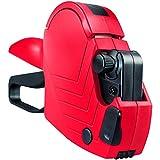 Meto Arrow S, Preisauszeichner 9505490 (1-zeilig, 8-stellig für 22 x 12 mm Etiketten, sofort einsatzbereit) 1 Handauszeichner, rot-schwarz