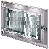 ACO MARKANT Stahlkellerfenster 1 Flügel ESG Sicherheitsglas mit Mauerranker, Stahlkellerfenster 1flg:60 x 50 cm
