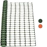 Woodside - Kunststoff-Hühnerzaun - Maschengewebe - Grün - 1 x 50 m (H x L)