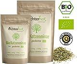 Katzenminze Bio getrocknet (100g) | Katzenminzekraut | 100% ECHTE Nepeta cataria | Katzenminzetee