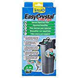 Tetra EasyCrystal Filter 250 Aquarium-Innenfilter (für kristallklares gesundes Wasser, einfache Pflege, keine nassen Hände beim Filterwechsel, intensive mechanische biologische chemische Filterung), geeignet für Aquarien von 15 bis 40 Liter