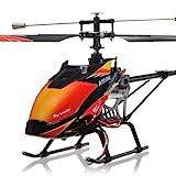 s-idee 01142 | V913 4.5 Kanal 2,4 Ghz Heli Hubschrauber RC ferngesteuerter Hubschrauber/Helikopter/Heli mit LCD Display und GYROSCOPE-TECHNIK + 2,4Ghz TECHNOLOGIE!!! für INNEN und AUSSEN brandneu mit eingebautem GYRO und 2.4 GHz Steuerung! FLUGFERTIG!