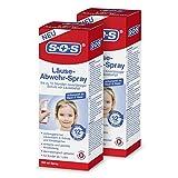 SOS Läuse-Abwehr-Spray (2er Pack) Schutz vor Läusebefall