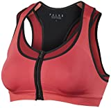 FALKE Damen Sport Bh Bra-Top with Zip Closure Maximum Support, Hibiscus, XS, 38461