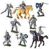 Spielfiguren Sortiment 'Ritter' - 10 Figuren - MADE IN GERMANY