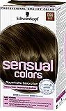 Schwarzkopf Sensual Colors Dauerhafte Coloration 500 Mittelbraun, 3er Pack (3 x 142ml)