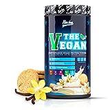 Rocka Nutrition Vegan Protein THE VEGAN | Erbsenprotein + Reisprotein 1kg (Vanilla Cookie)