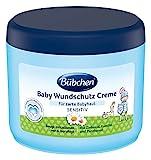 Bübchen Baby Wundschutz Creme, Sensitive Wundheilsalbe, 2er Pack (2 x 500 ml)