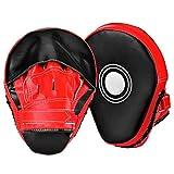 Generic * Anzeige, H 2 Stück Focus S, H Hand Targets Boxen Pads, Boxpads, s s 2 Stück Foc Training Punching PU Unching PU Handschuhe MMA Punching PU