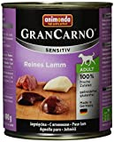 Animonda Gran Carno Hundefutter Adult Sensitiv, Nassfutter für ausgewachsene Hunde, 6er Pack