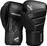 Hayabusa T3 Boxhandschuhe für Damen und Herren, schwarz, 10oz