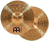 Meinl Cymbals C10MH Classics Serie 25,40 cm (10 Zoll) Mini Hihat Paar Becken