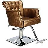 Friseurstuhl 203451 bronze